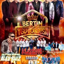 Image for Bertin y su Condesa, La Sonora Dinamita, Furia Tropical, Salazar Band y Alex Ruiz en Vivo!