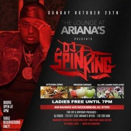Image for Patio Sundays Pre Halloween Party DJ Spinking Live At Ariana's