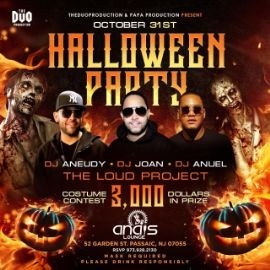 Image for Halloween Party en Anais Lounge de Passaic!
