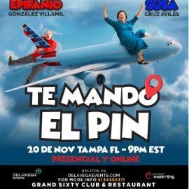 """Image for Susa y Epifanio con su nuevo show """"TE MANDO EL PIN"""" Show Virtual y Precensial!"""
