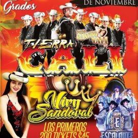 Image for Celebrando Thanksgiving: Tierra Cali, Viry Sandova y Grupo Escalante en Vivo! POSTPONED