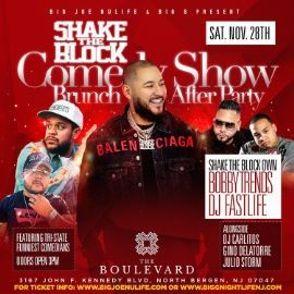 Image for Comedy Show Brunch Day Party DJ Bobby Trends Live At The Boulevard