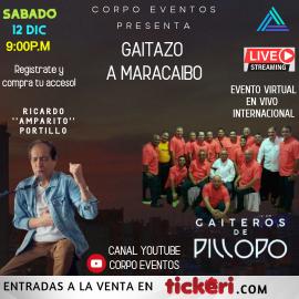 Image for GAITAZO A MARACAIBO l RICARDO PORTILLO l GAITEROS DE PILLOPO - 12 DIC 2020