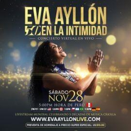 """Image for Eva Ayllón """"50 EN LA INTIMIDAD"""" Concierto Virtual en Vivo"""