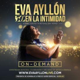 """Image for ON Demand: Eva Ayllon """"50 en la intimidad"""""""