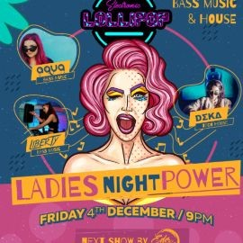 Image for FRIDAY - LADIES NIGHT POWER