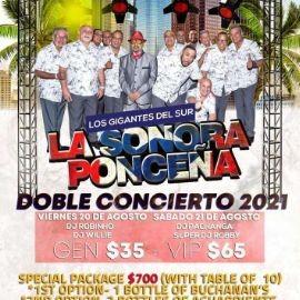 Image for La Sonora Ponceña en Vivo! Doble Concierto 2021