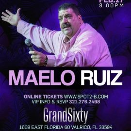 Image for Maelo Ruiz en concierto Tampa