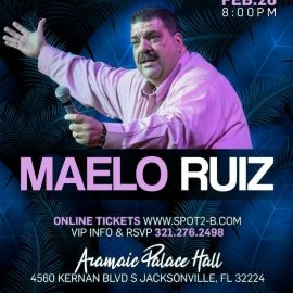 Image for TONIGHT Maelo Ruiz en concierto Jacksonville