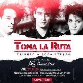 Image for Toma la Ruta Tributo a Soda Stereo!