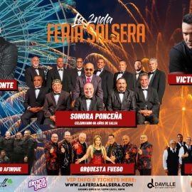 Image for La Segunda Feria Salsera con La Sonora Ponceña, Charlie Aponte, Victor Manuelle y muchos mas!