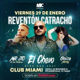 Image for Reventon Catracho con El Chevo, Mr. JC y Onice Flores en Vivo!