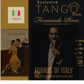 Image for Exclusive Tango Show with Fernando Pirez!