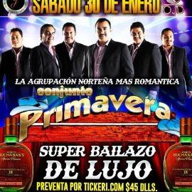 Image for Super Bailazo de Lujo con Conjunto Primavera en Vivo!