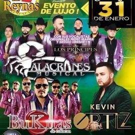 Image for Evento de Lujo con Alacranes Musical, Buknas de Culiacan y Kevin Ortiz en Vivo!