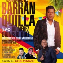 Image for Carnaval de Barranquilla con Diomedez Dionisio Diaz en Vivo!
