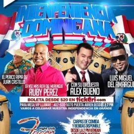 Image for Independencia Dominicana con Rubby Perez, Alex Bueno, Luis Miguel del Amargue y mas!