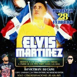 Image for Celebrando la Independencia Dominicana: Elvis Martinez en Concierto!