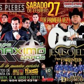 Image for Grupo Maximo Grado, Jesus Ojeda y sus Parientes y Banda Desierto en Vivo!