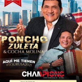 Image for Poncho Zuleta & Cocha Molina en MIAMI