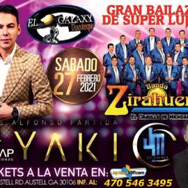 Image for Banda Zirahuen de Michoacan, El Yaki y Juanma en Gran Bailazo de Lujo! POSPUESTO