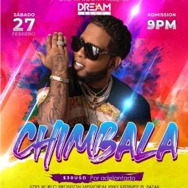 Image for Chimbala llega a Dream Room