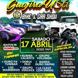 Image for 3ER DIA INTERNATIONAL DE LA GUAJIRA USA CAR & BIKE SHOW con RUMBA CALIENTE y mas!