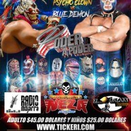 Image for Lucha Libre de Poder a Poder con Pycho Clown vs Blue Demon y Mas!