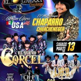 Image for Chaparro Chuacheneger, El Nuevo Corcel, Lalo y sus Norteños y Conjunto Ch-P en Vivo!