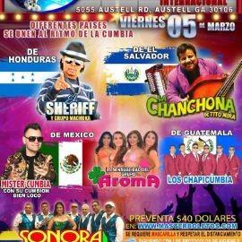 Image for El Sheriff, La Chanchona de Tito Mira, Grupo Aroma, Sonora Dinamita, Los Chapicumbia y Mr. Cumbia en Vivo!