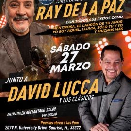 Image for Ray de la Paz junto a David Lucca en Vivo!