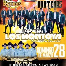 Image for Bandas vs Norteñas con Banda Los Montoya y Legacia Norteña en Vivo!