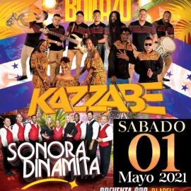 Image for Gran Bailazo con Kazzabe y Sonora Dinamita en Vivo!
