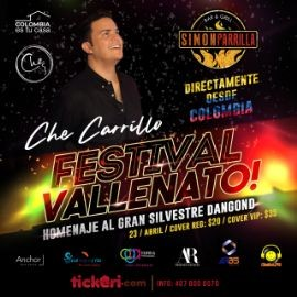 Image for CHE CARRILLO HOMENAJE A SILVESTRE DANGOND - ORLANDO