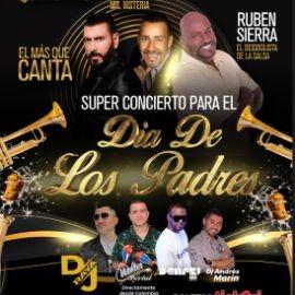 Image for SUPER CONCIERTO PARA EL DIA DE LOS PADRES con Domingo Quinones, Ruben Sierra y Luisito Carrion