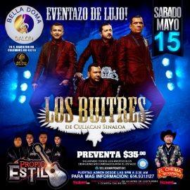 Image for Los Buitres de Culiacan Sinaloa, Las Cumbiamberas Liz y Liz y El Chema en Vivo!