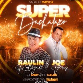 Image for SUPER BACHATAZO 2021 RAULIN RODRIGUEZ & JOE VERAS