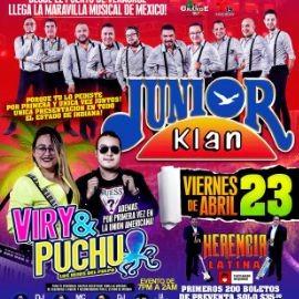 Image for Junior Klan y Viry & Puchu en Vivo!