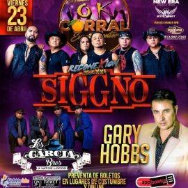 Image for Reconexion Tour XXI SIGGNO, Los Garcia Bros y Gary Hobbs en Vivo!