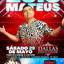 Image for Luis Mateus por primera vez en Dallas Tx