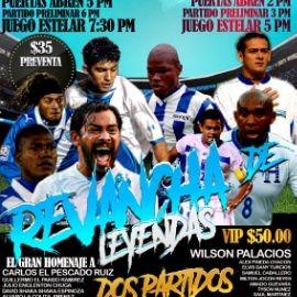 Image for Juego de Leyendas en San Rafael: Futbol en Vivo Honduras vs Guatemala! POSPUESTO