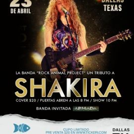 Image for Tributo a Shakira - Dallas, Texas