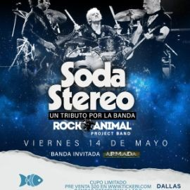 Image for Tributo a Soda Stereo-Dallas, Texas