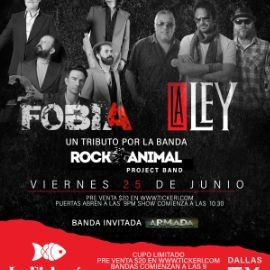 Image for Tributo a Fobia y La Ley - Dallas, Texas