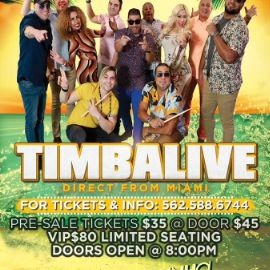 Image for TIMBALIVE DIRECT FROM MIAMI