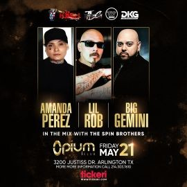 Image for Amanda Perez, Lil Rob and Big Gemini en Vivo!