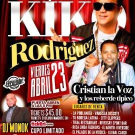 Image for Bachatipico con Kiko Rodriguez en Concierto!