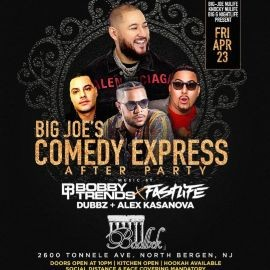 Image for Big Joe Comedy Express After Party DJ Bobby Trends Live At Baablek Lounge