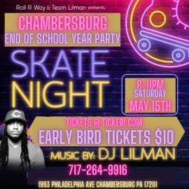 Image for DJ LILMAN CHAMBERSBURG END OF THE SCHOOL YEAR PARTY