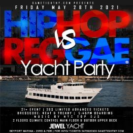 Image for MDW NYC Hip Hop vs Reggae® NYC Sunset Cruise Skyport Marina Jewel Yacht